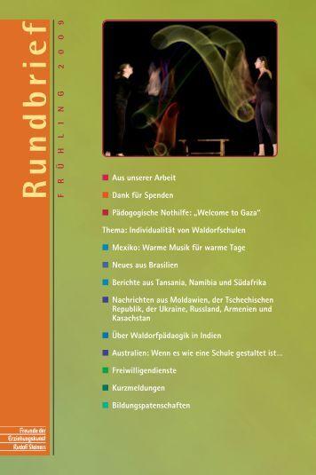 Individualität von Schulen - Freunde der Erziehungskunst Rudolf ...