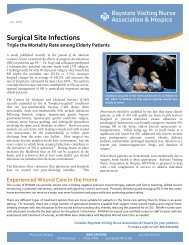Surgical Site Infections - Baystate Health
