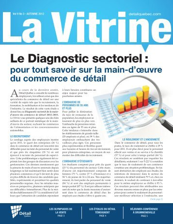 La Vitrine vol. 9, no 3 - Détail Québec