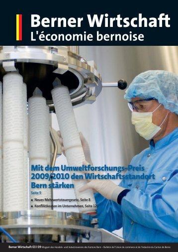 Magazin Berner Wirtschaft 03/2009 - Handels- und Industrieverein ...