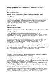 Remissvar Svensk Perfusionistförening - SRAT