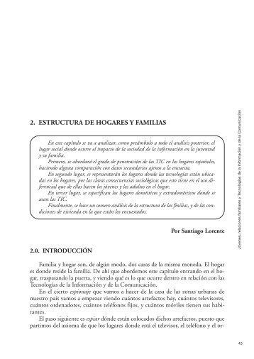 2. Estructura de familias y hogares. - Injuve
