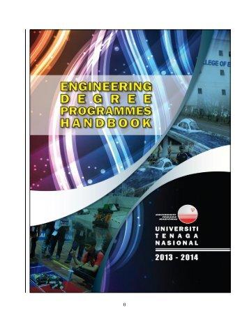 COE Students Handbook 2013-2014 - Universiti Tenaga Nasional