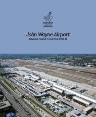REVENUE REPORT, FISCAL YEAR 2010-2011 - John Wayne Airport