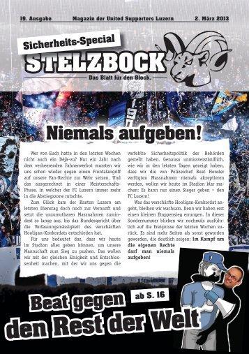 Der Stelzbock - United Supporters Luzern