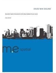 Cruise New Zealand 2012 Economic Impact Report - Tourism New ...