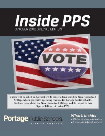 Millage Information - Portage Public Schools