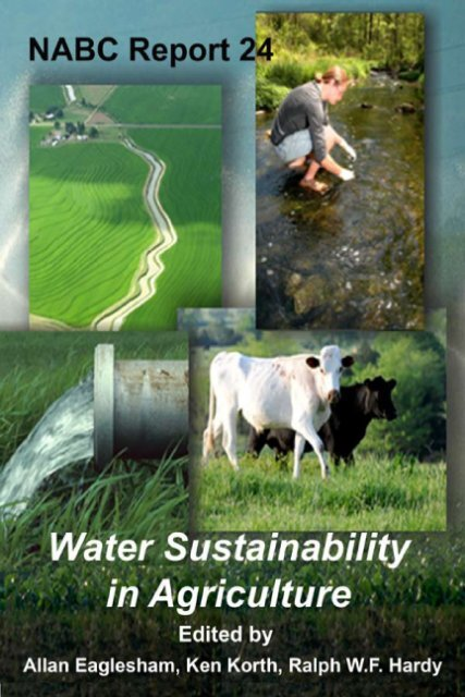 Water Sustainability in Agriculture - National Agricultural ...
