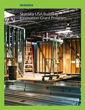 Skanska USA Building Innovation Grant Program