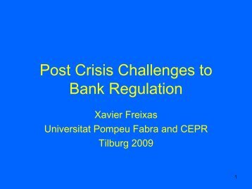 Lender of last resort and bank closure: policy lessons from a ...