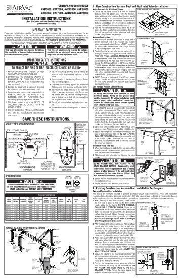 Page 4 General Installati