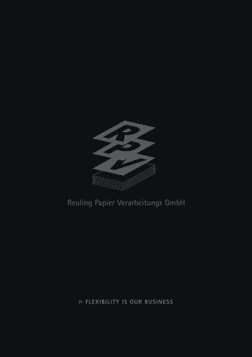 (1,2 MB) > PDF-Datei - Reuling Papier Verarbeitungs GmbH
