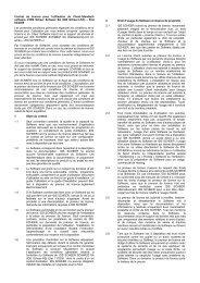 Contrat de licence pour l'utilisation du Client ... - IDS Scheer AG