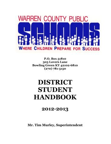 2012-2013 District Student Handbook[1] - Warren County Schools