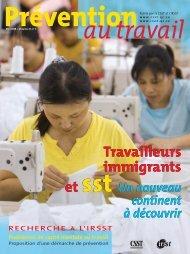Un nouveau continent à découvrir Travailleurs immigrants et ... - CSST