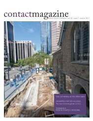 Contact Magazine – September 2011 - Christ Church Cathedral ...