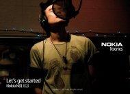 Let's get started - Nokia