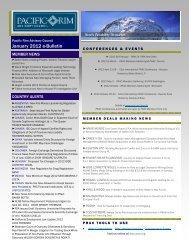 January 2012 e-Bulletin(.pdf) - Pacific Rim Advisory Council (PRAC)