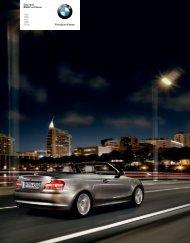 Freude am Fahren Das neue BMW 1er Cabrio 118i 120i 125i 135i ...