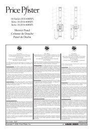 Manual de Instrucciones (1.36 MB) - Pfister International