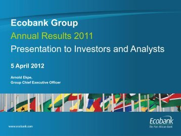 5 April 2012 - Ecobank