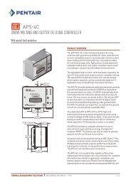 APS-4C - Pentair Thermal Management