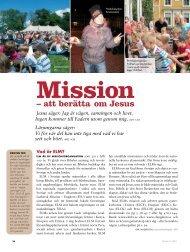 Mission – att berätta om Jesus - Till Liv