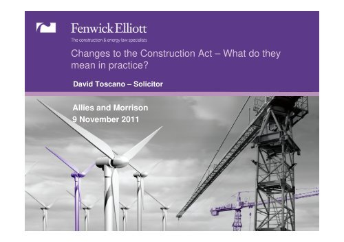 Download the PDF - Fenwick Elliott