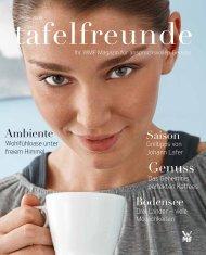 tafelfreunde Sommer 2009 - Wmf.com