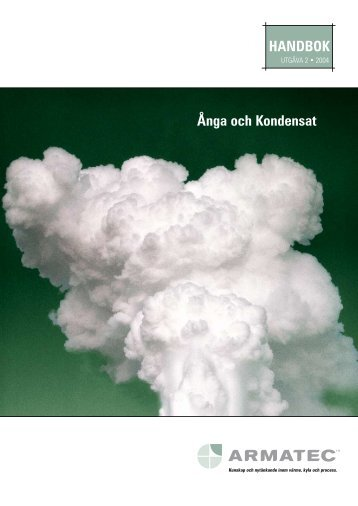 HANDBOK Ånga och Kondensat - Armatec