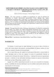 Disponibilidade hídrica das Bacias da Lagoa Mirim e Rio ... - CPRM