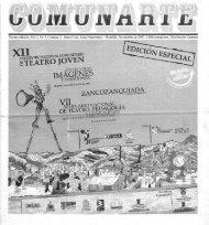 Tercera edición. Año 2. No 3. Comuna 2 - Casa del Teatro de Medellín