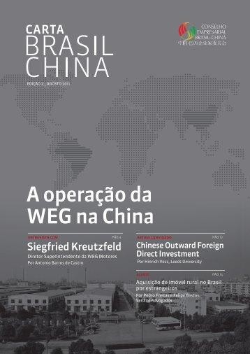 A operação da WEG na China - Cera