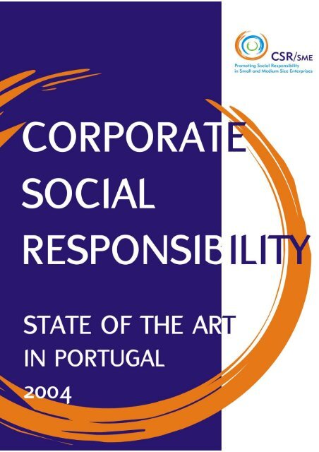 Corporate Social Responsibility: State of the Art in Portugal ... - Cecoa