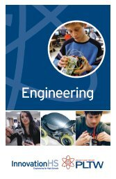 High School Engineering - Project Lead the Way