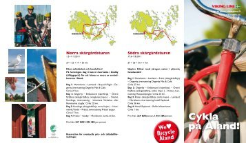 Cykla på Åland!