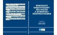 Bányászati karsztvízszint-süllyesztés a Dunántúli ... - MEK