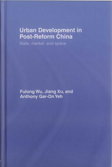 Urban Development in Post-Reform China - Geography & Resource ...