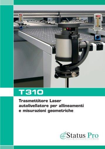Trasmettitore Laser autolivellatore per allineamenti e misurazioni ...