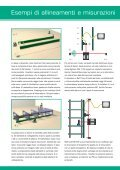 Trasmettitore Laser autolivellatore per allineamenti e misurazioni ... - Page 4