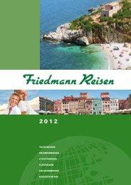 Reise-Katalog 2012 - Friedmann-Reisen