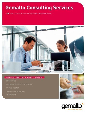 Gemalto Consulting Services