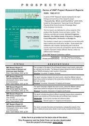 HWF Publication Prospectus