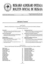 BIZKAIKO ALDIZKARI OFIZIALA BOLETIN OFICIAL DE BIZKAIA - Fruiz