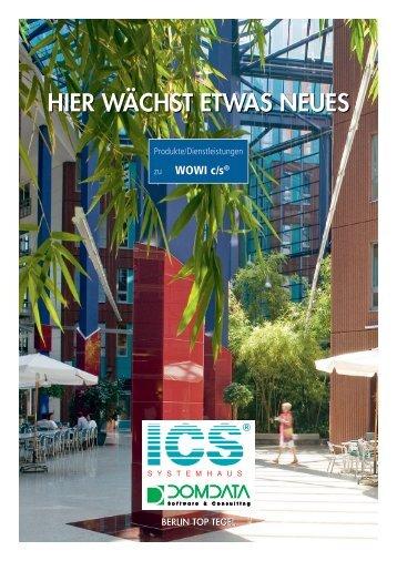 Hier wäcHsT eTwas neues - ICS Integra Computing Services GmbH
