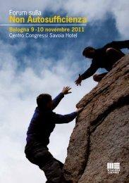 Scarica il programma 2011 - Forum sulla non Autosufficienza