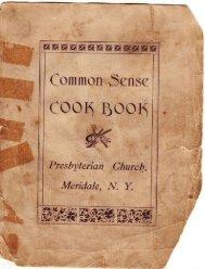 Common Sense Cookbook - pages 1-27
