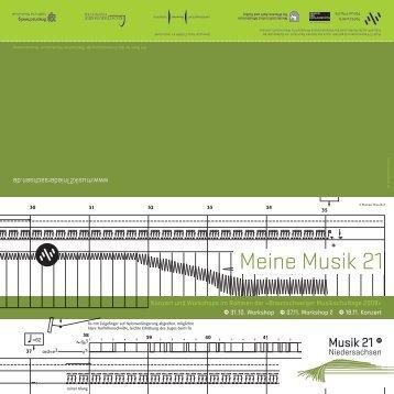 Meine Musik 21 - Musik 21 Niedersachsen 2008-2011