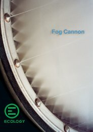 brocure Fog Cannon - PeaceLink