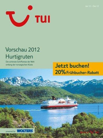 Vorschau 2012 Hurtigruten Jetzt buchen!